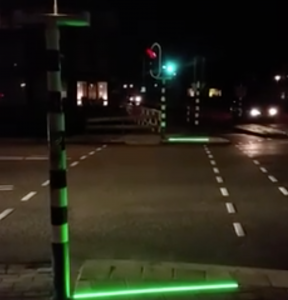 Dutch town testing out traffic lights for distracted pedestrians