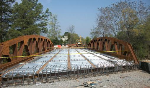 Truss bridge design improves traffic safety while reducing project costs in Spartanburg County, S.C.