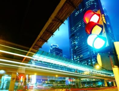 traffic technology at intersections
