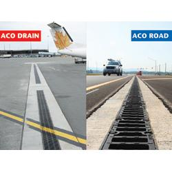 ACO Road is a range of trench drains engineered for the design and performance demands of surface drainage on highways, roads and bridges. ACO Drain provides trench drains for commercial and industrial applications. Both are two product options for worry-free storm water management.