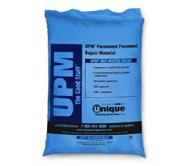 UPM Permanent Pavement Repair Material