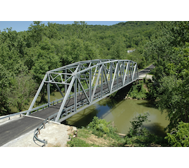 The U.S. Bridge Freedom Series Thru Truss