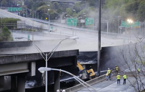 Atlanta I-85 bridge collapse