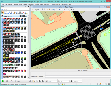Pavement marking/striping software | Roads & Bridges