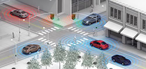 """Driverless-vehicle innovators are not waiting for transportation authorities to build """"smart"""" highway infrastructure."""