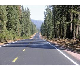 Cold in-place recycling fixes mountainous Calif. highway