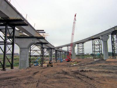 New interchange eases airport traffic