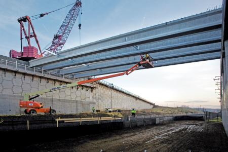 The I-66 project created direct ramp access to and from the interstate via a braided ramp network.