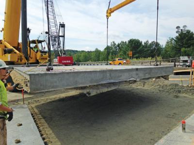 Approach slab for bridge