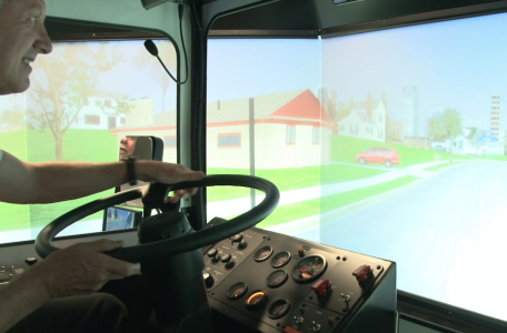 JTA bus simulator