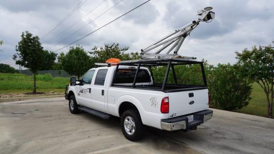 TTI LiDAR vehicle