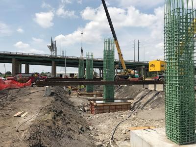 I-74 Mississippi River Bridge, Bettendorf/Davenport, Iowa, and Moline, Ill.