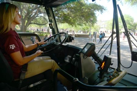 TxDOT research team tests Vision Zero collision avoidance system