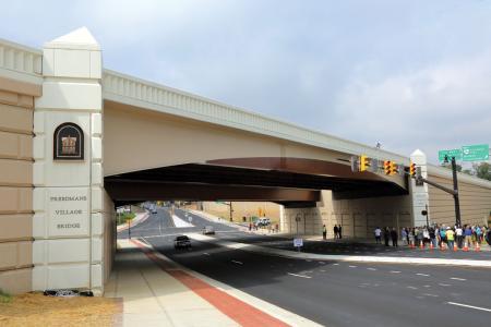 New Freedmans Village Bridge improves access in historic area