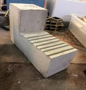 Figure 1 underlay concrete specimen