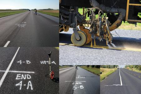 Evaluation of pavement markings on challenging surfaces in Minnesota