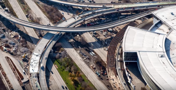 The I-55 Stevenson Expressway linking Lake Shore Drive in Chicago is one major project continuing for IDOT in 2017