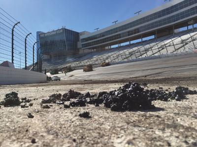 Crews repave Texas Motor Speedway the right way