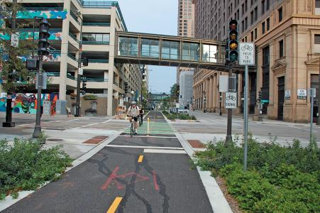 Green complete streets