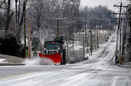 Johnson County Indiana snow plow