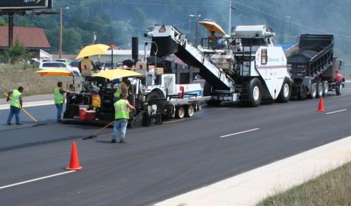 NAPA recognizes paving work on two- to five-lane expansion of S.R. 36 in Washington County, Tenn.