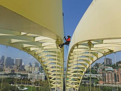 Big Mac Bridge cable inspections