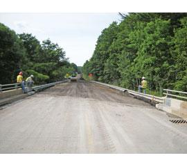 Portion of unstable S.R. 321 in Pa. receives FDR treatment