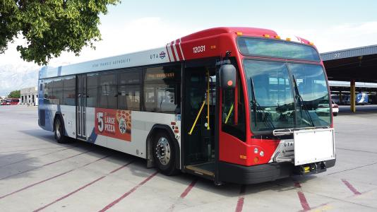 UTA connected bus service