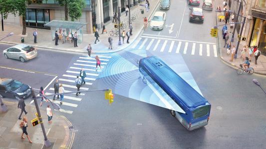 Mobileye collision-avoidance system