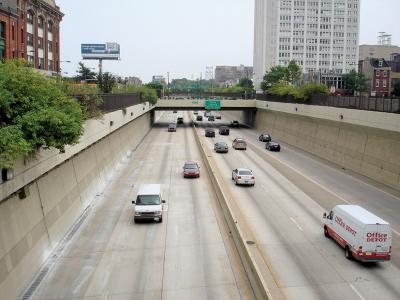 Vine Street Expressway Philadelphia