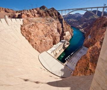 The Hoover Dam Bypass is designed and constructed to last for more than 100 years.