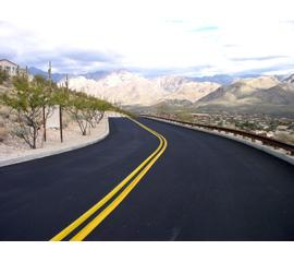 Surface treatment for roads
