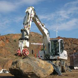 Terex has introduced seven hydraulic transverse cutting units to the North American market.