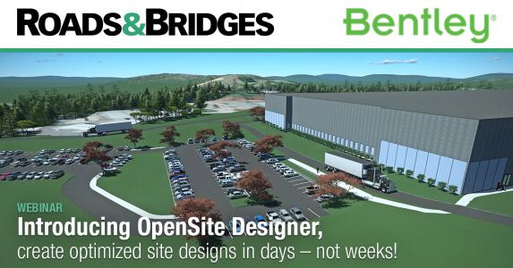 Bentley webinar Introducing OpenSite Designer