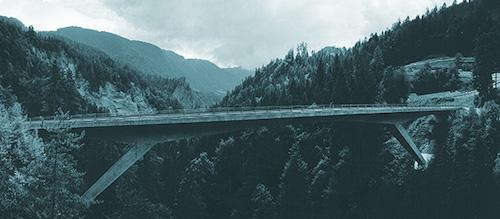 Versamertobel Bridge over the Versam Gorge