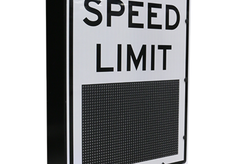 variable speed limit sign