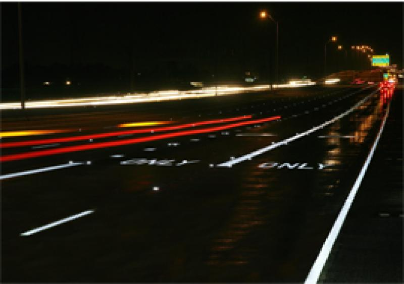 3M Stamark tape sets the standard for durability and visibility in pavement markings