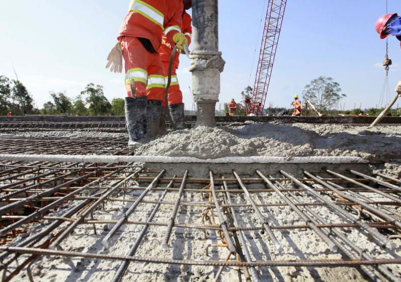 Researchers estimate how much carbon dioxide is absorbed by cement in the world