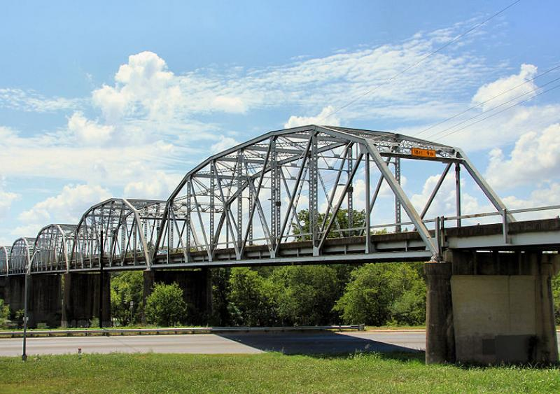Montopolis Bridge in Austin, Texas