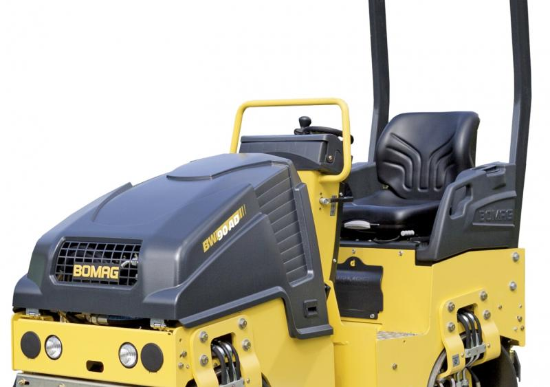 Bomag's BW90AD-5 tandem vibratory roller