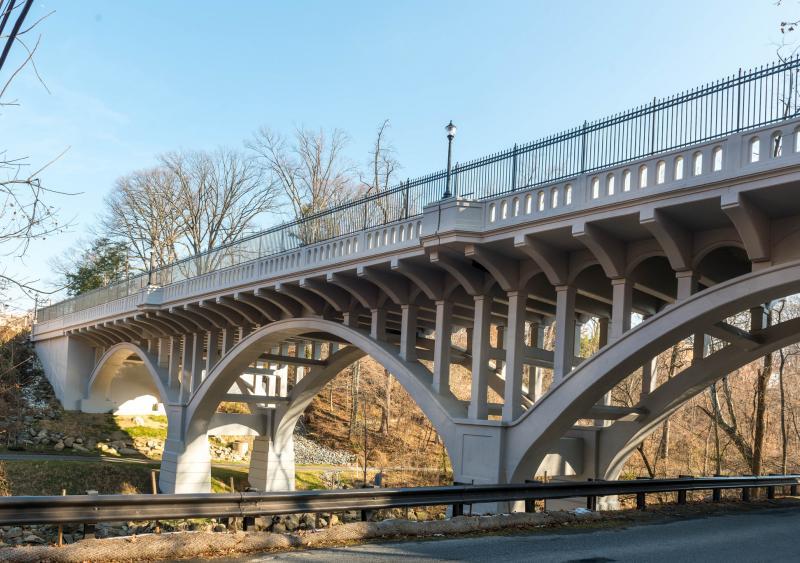 The Carroll Avenue Bridge in Takoma Park, Md.