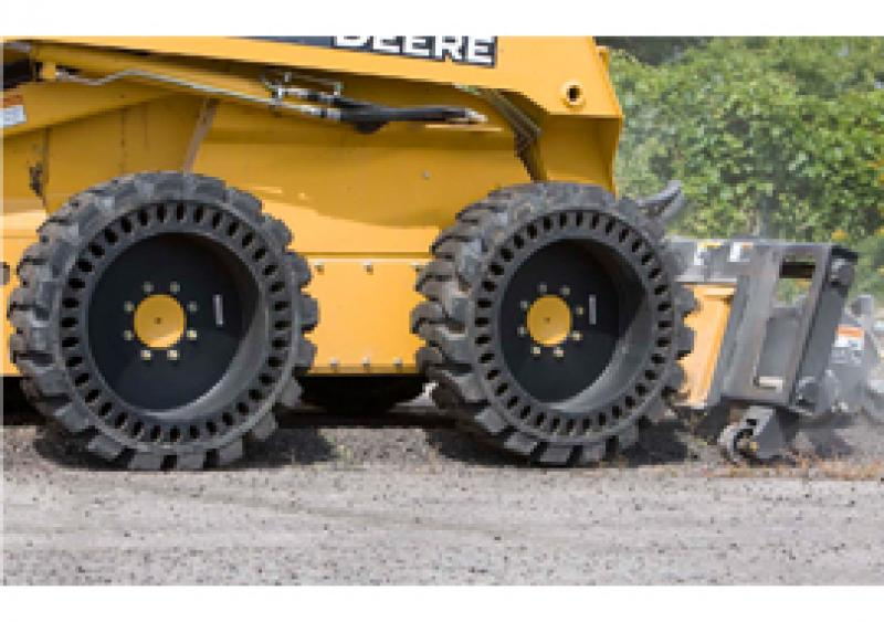 Solid Flex Tires from CE Attachments