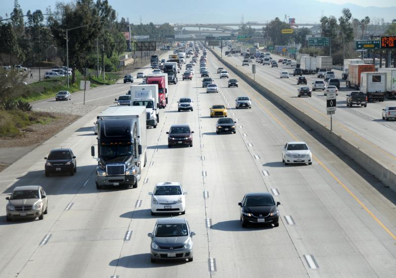 Caltrans marks 70-year anniversary of I-10 section