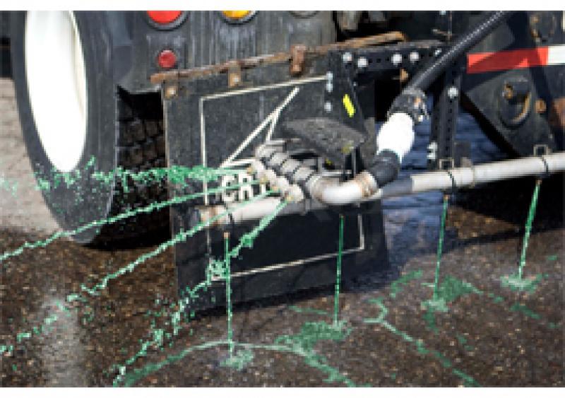 GreenBlast, a deicing liquid brine