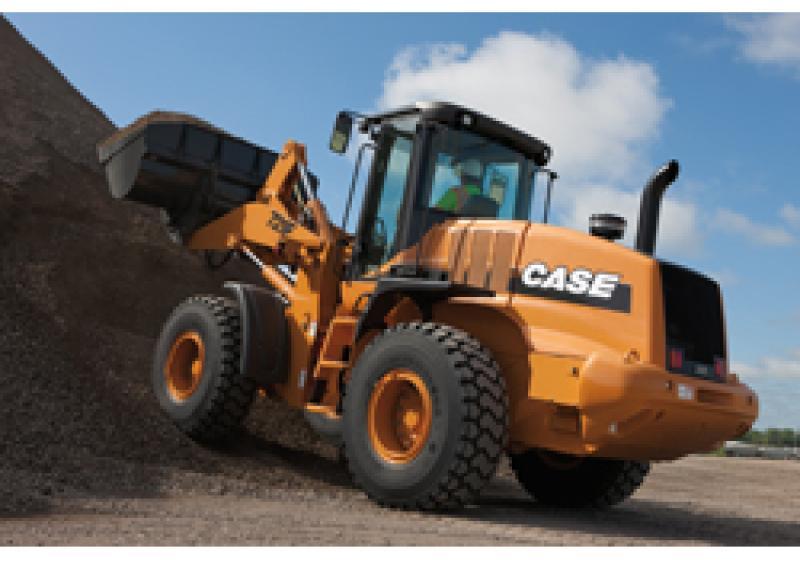 Case Construction Equipment F Series wheel loader models