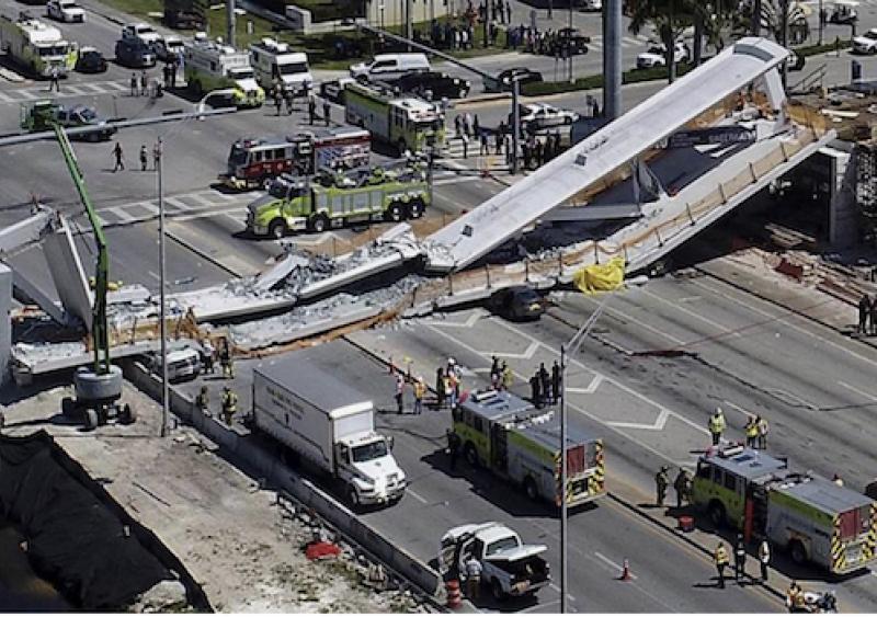 FIU bridge collapse in Miami