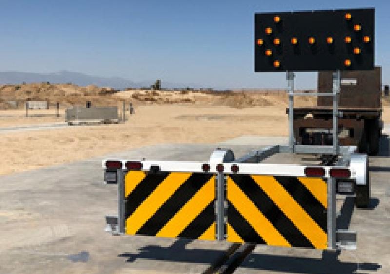 Gregory trailer truck mounted attenuator