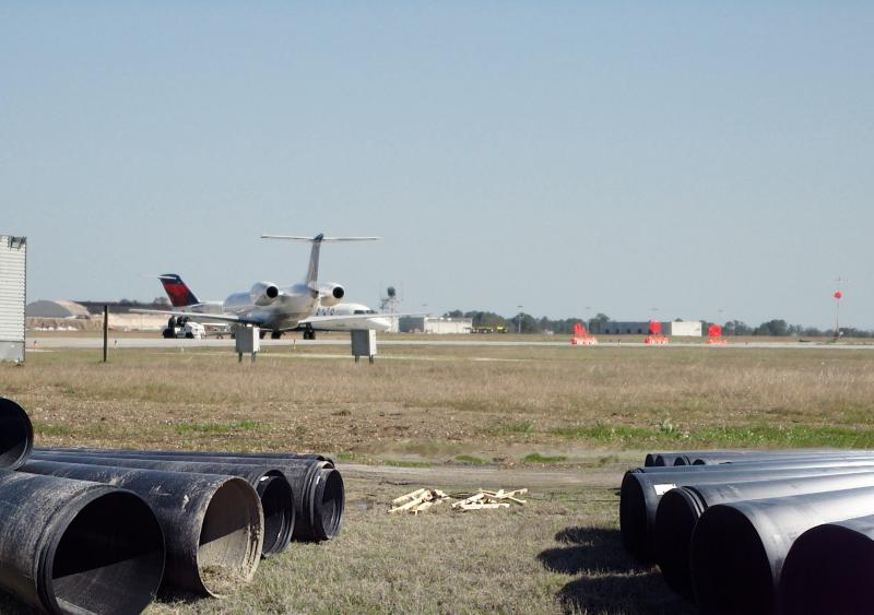 The Gulfport-Biloxi International Airport, Snap-Tite pipe system