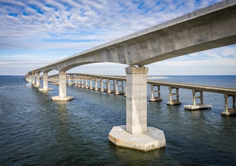 Basnight Bridge in North Carolina: courtesy of HDR