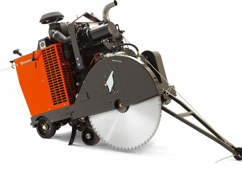 Husqvarna's FS 9900 D 3-speed gearbox flat saw